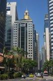 Downtown Singapore Royalty Free Stock Photo
