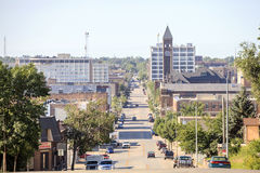 Downtown of Sioux Fall, South Dakota. Stock Images