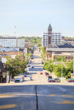 Downtown of Sioux Fall, South Dakota. Royalty Free Stock Photography