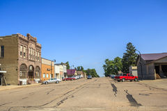 Downtown of Sioux Fall, South Dakota. Royalty Free Stock Photo