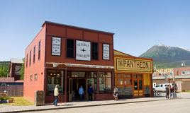 Free Downtown Skagway In The Springtime Royalty Free Stock Photography - 56328947