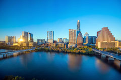 Downtown Skyline of Austin, Texas Royalty Free Stock Images
