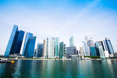 Downtown Skyline Singapore Royalty Free Stock Photos
