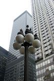 Downtown skyscrapers - urban tall buildings Stock Photography
