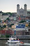 Downtown St. John's Stock Photo