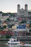 Downtown St. John's stock photo