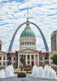 downtown st louis Royalty Free Stock Image