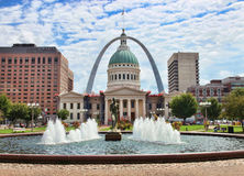 downtown st louis Stock Photo