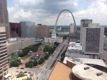 Downtown St. Louis Royalty Free Stock Photography