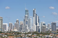 Downtown of Surfers Paradise Royalty Free Stock Image
