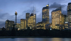 Downtown Sydney - Australia Stock Photo