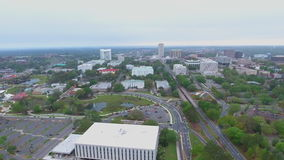 Downtown Tallahassee FL stock video