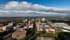 Downtown Tallahassee. From the observation deck (22nd Floor) of the Florida State Capitol building in Tallahassee, Florida Stock Photography