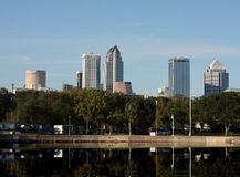 Downtown Tampa Stock Image