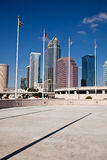 Downtown Tampa, Florida. Majestic Downtown Tampa, Florida, USA royalty free stock photography
