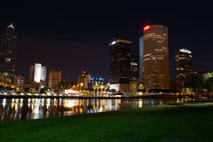 Downtown Tampa, Florida. A view of downtown Tampa, Florida stock images