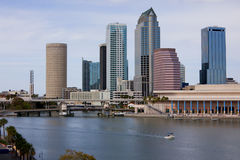 Downtown Tampa skyline Stock Photography