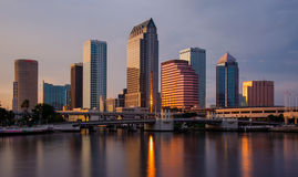 Downtown Tampa Skyline Royalty Free Stock Photo