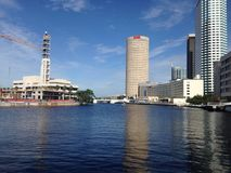 Downtown Tampa stock photography