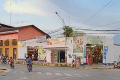 Downtown, tarapoto, peru Royalty Free Stock Image