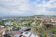 Downtown of Tbilisi Royalty Free Stock Photo
