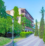 The downtown of Tbilisi Royalty Free Stock Image