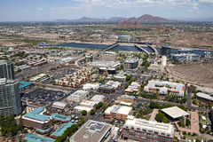 Downtown Tempe Royalty Free Stock Photography