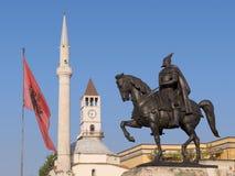 Downtown In Tirana, Albania Royalty Free Stock Photo