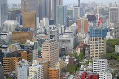 Downtown Tokyo Royalty Free Stock Images