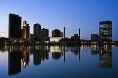 Downtown Toledo stock photography
