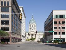 Downtown Topeka Stock Images
