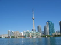 Downtown Toronto. Picture of downtown Toronto, Ontario, Canada. Taken from a boat on Lake Ontario Stock Photography