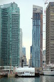 Downtown Toronto Modern Buildings Stock Images