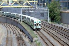 Downtown Toronto Railway and Train Stock Photography