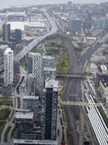 Downtown Toronto. A view of downtown Toronto from the CN Tower Stock Photography