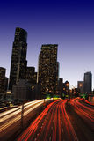 Downtown traffic royalty free stock images