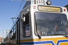 Downtown Trolley Stock Photography