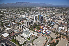 Downtown Tucson, Arizona royalty free stock images