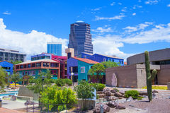 Downtown Tucson Stock Photo