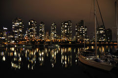 Downtown Vancouver Stock Image