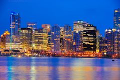 Downtown Vancouver Stock Photos