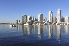 Downtown Vancouver, British Columbia stock photos