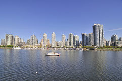 Downtown Vancouver, British Columbia Stock Image
