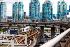 Downtown Vancouver, British Columbia. Stock Images