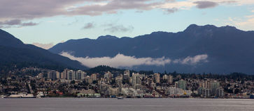 Downtown Vancouver, British Columbia. Stock Image