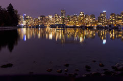 Downtown Vancouver, British Columbia, Canada Stock Image