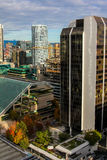Downtown Vancouver, British Columbia. Royalty Free Stock Photo