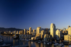 Downtown Vancouver- Canada Stock Photo