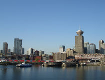 Downtown Vancouver Cityscape Stock Photo