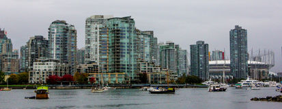 Downtown Vancouver during daytime. Stock Images